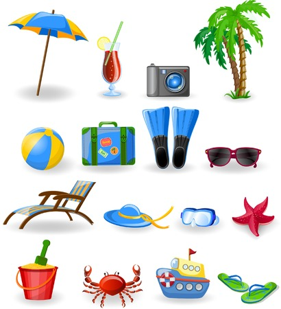 Travel icons Stock Vector - 30493704