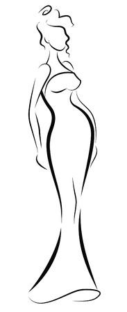 Fashionable women Vector