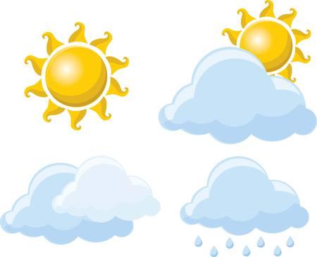 Weather icons 版權商用圖片 - 34296990
