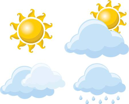 Weather icons 向量圖像