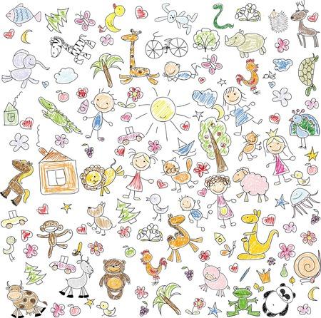 Children\'s drawings