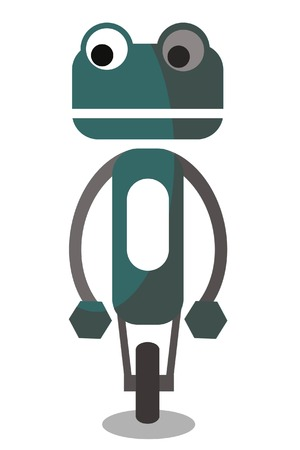 Cartoon vector robot Vector