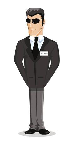 Cartoon vector character of man Illustration