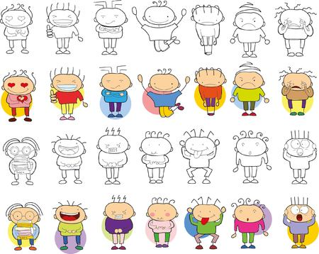 1,021 Childrens Faces Stock Illustrations, Cliparts And Royalty ...
