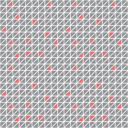rhomb: Abstract Geometric Triangle Seamless Pattern Illustration