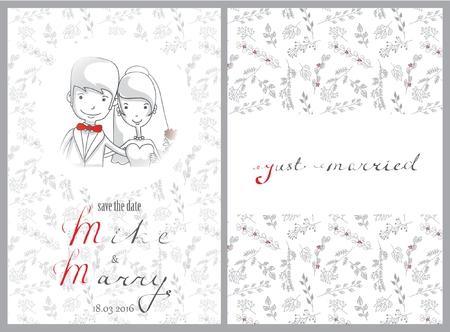 Doodle line design of web banner template with Vektorové ilustrace