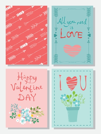 heart month: Valentines Day Greeting Card