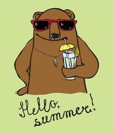 Cool Bear drink summer cocktail