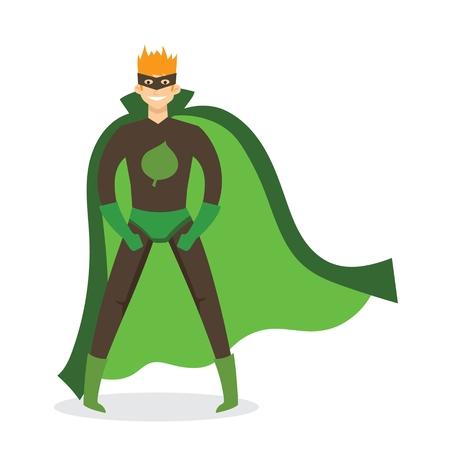 Comic costume vector illustration.