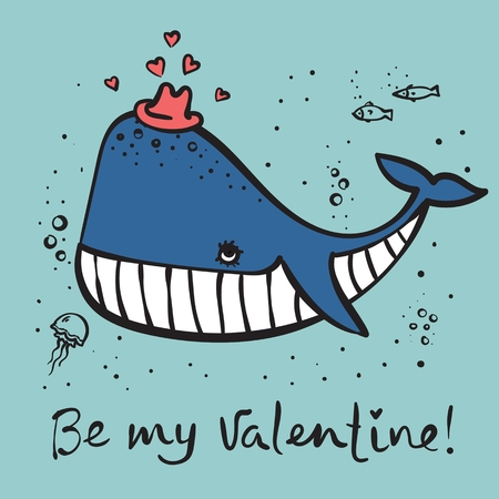 Be my Valentine 向量圖像