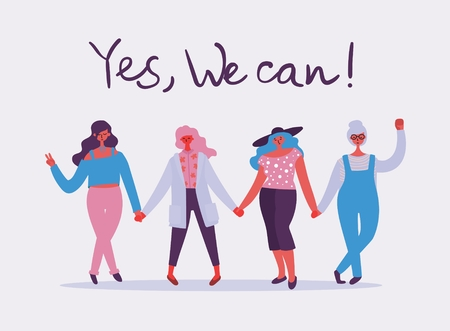 Yes, we can. Feminine concept