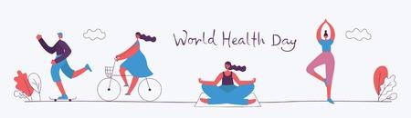 Journée mondiale de la santé. Vecteurs