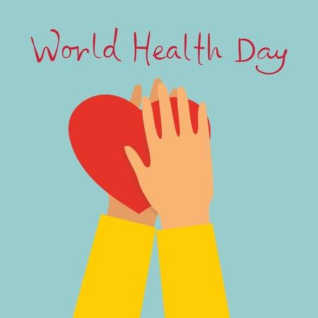 Vector illustration World Health Day