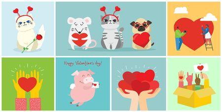 Share your love. Иллюстрация