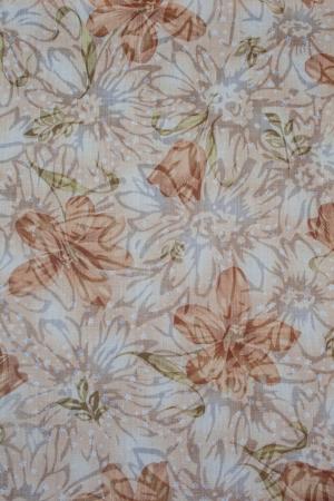 Flowery Fabric  Stock Photo