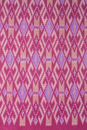 Thai art pattern on fabric