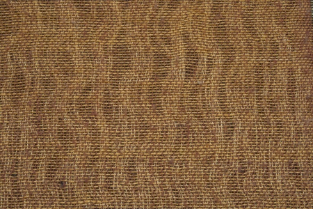 Natural woven beige fabric