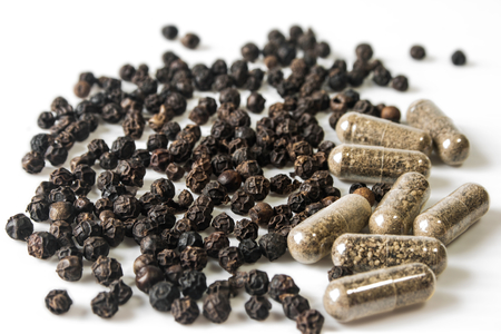 Black pepper and Capsules