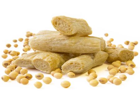 beancurd: Soybeans and Beancurd sticks