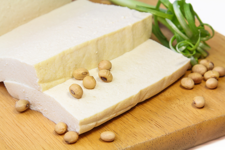 Slices of tofu