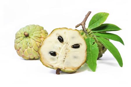 Custard apple or Sugar-apple ,fragrant and sweet fruit.