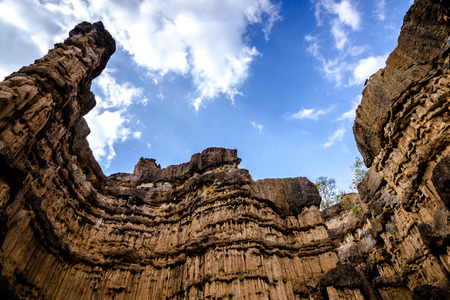 chiangmai: thai grand canyon Stock Photo