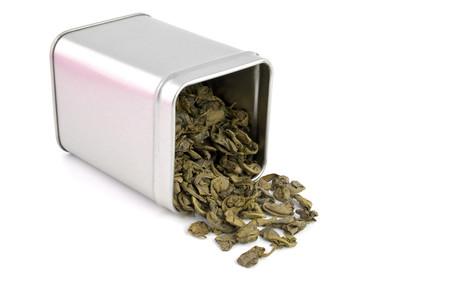 Isolated Green Tea.