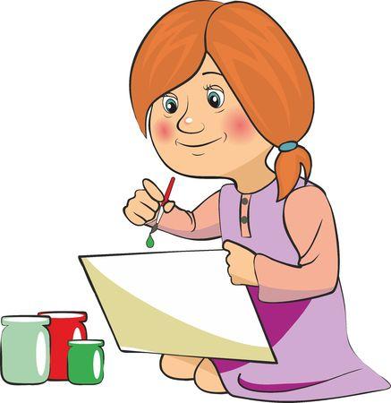 面白い子供たちの演奏のベクトル イラスト