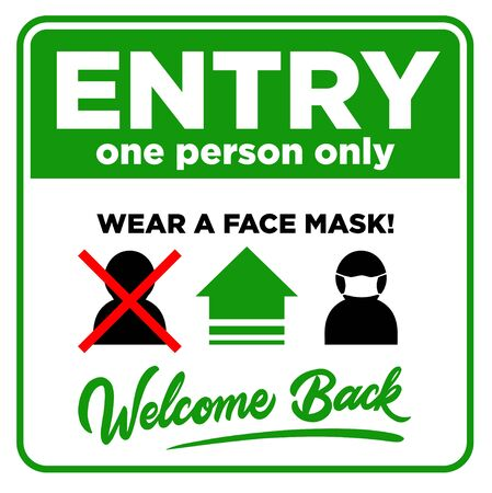 Open sign on the front door welcome back! We are working again. Entry one person only and wear face mask.