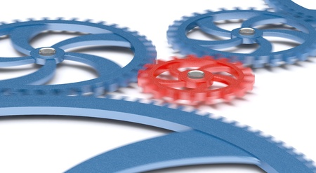 indentation: Gears in movement