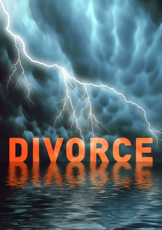 The end of a marriage, divorce, problems Stock Photo