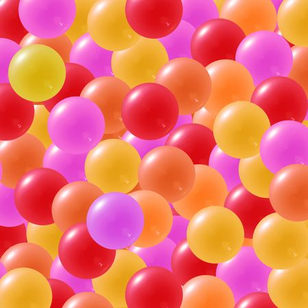 christmasball: Candy background with yellow, orange,red and pink sweets