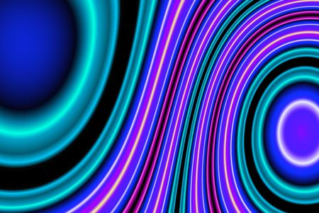 Abstract, futuristic background in blue, green, pink, purple, yellow Stock Photo - 2917832
