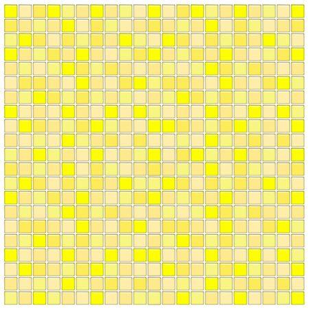 Bathroom wall with yellow glass mosaic tiles Stock Photo - 2917825