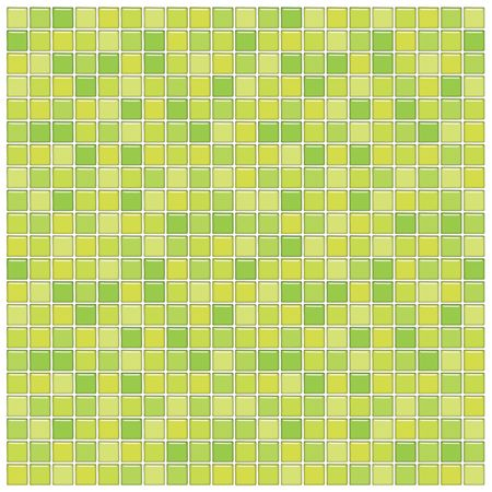Bathroom wall with green glass mosaic tiles Stock Photo - 2917826