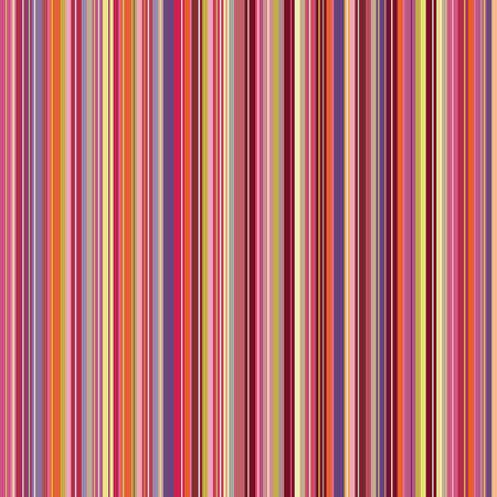 Retro (seamless) stripe pattern with warm colors Illustration