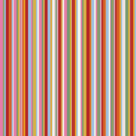Retro (seamless) stripe pattern with bright colors Stock Vector - 4170395