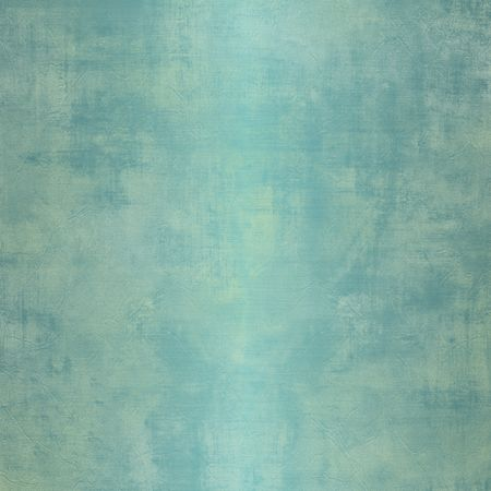 metallic grunge: Square grunge blue background with weathered, stained steel with soft reflection