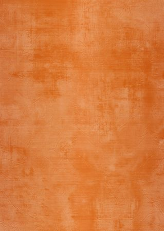 plaster wall: Oscuro y marr�n claro o naranja o yeso pintado pared, da�ado, grunge, sucio