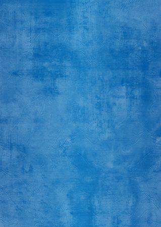 plaster wall: Oscuridad y la luz pintada de azul o de la pared de yeso, da�ado, grunge, sucio Foto de archivo
