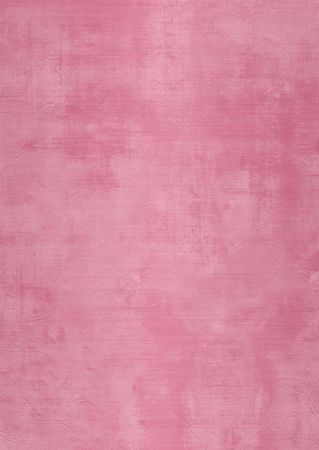 Dark and light pink painted or plaster wall, damaged, grunge, dirty Stock Photo