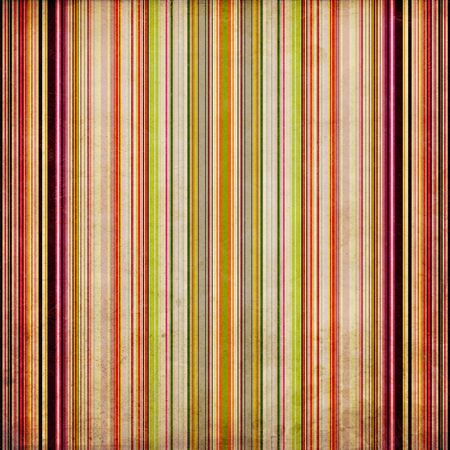 Weathered wall or background with painted, vertical stripes in grunge style photo
