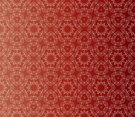 Stylish design with seamless lace on an (editable) red-brown background Stock Vector - 9735887