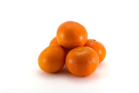 mandarine: set of mandarine fruits
