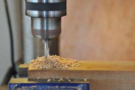 woodworking in workshop