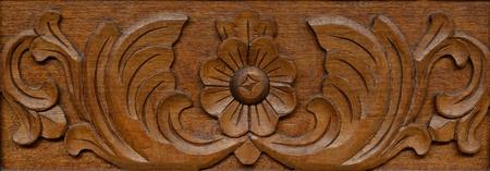 Patr�n de tallado en madera