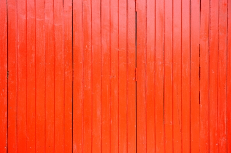 Madera con textura pintada rojo