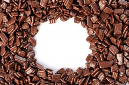 de chocolate de fondo Foto de archivo