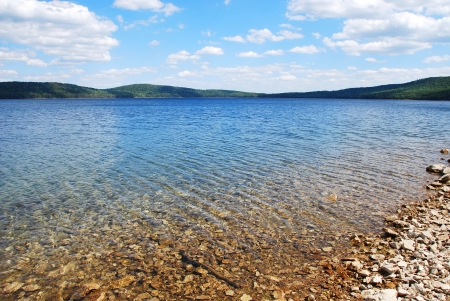 Lake on summer Stock Photo - 15546218