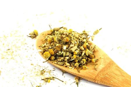 Dry chamomile Banco de Imagens